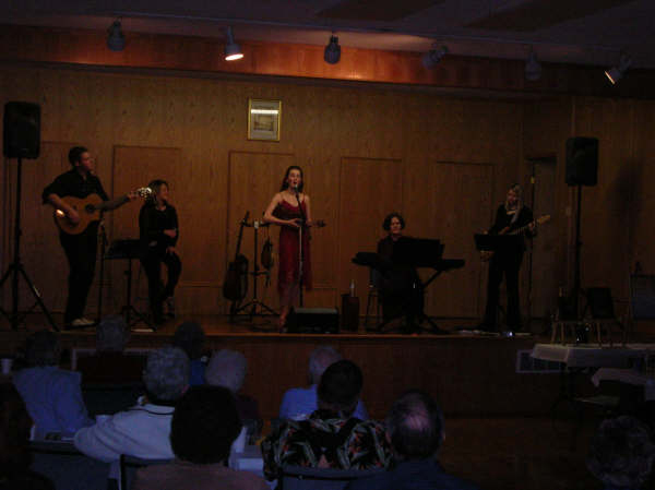 Performing at the Millet and District Historical Society 30th Anniversary Celebration - 2007