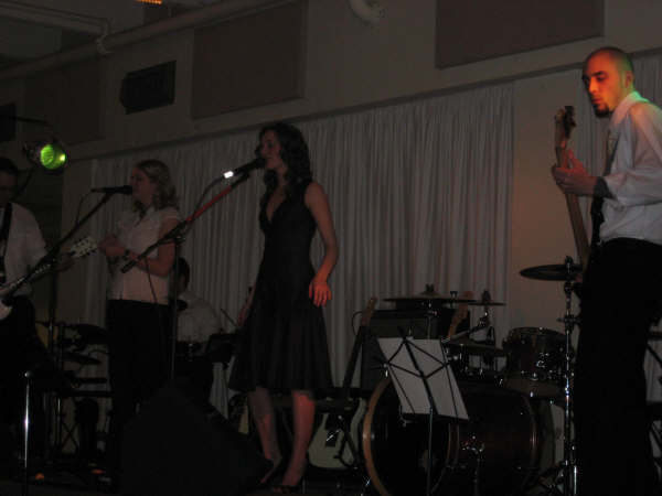 Performing at a wedding celebration - 2008  Sherwood Park, AB