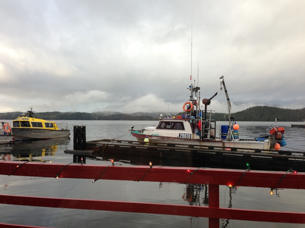 On tour in beautiful Prince Rupert, BC