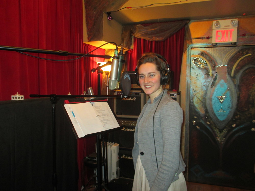 Recording 'New Lady on the Prairie'