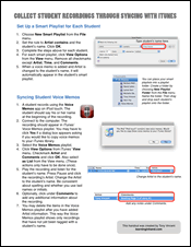 Syncing with iTunes Handout