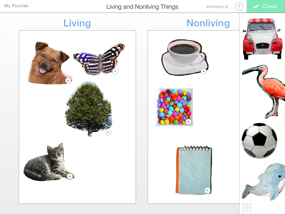 living and non living things Find a bunch of pictures of living and nonliving things to make a finding & sorting pictures of living and nonliving living and non-living things.