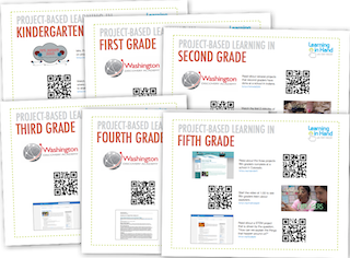 CLICK ABOVE TO DOWNLOAD THE PDF FOR THE EXAMPLE PROJECTS AND VIDEOS FROM ALL GRADE LEVELS.