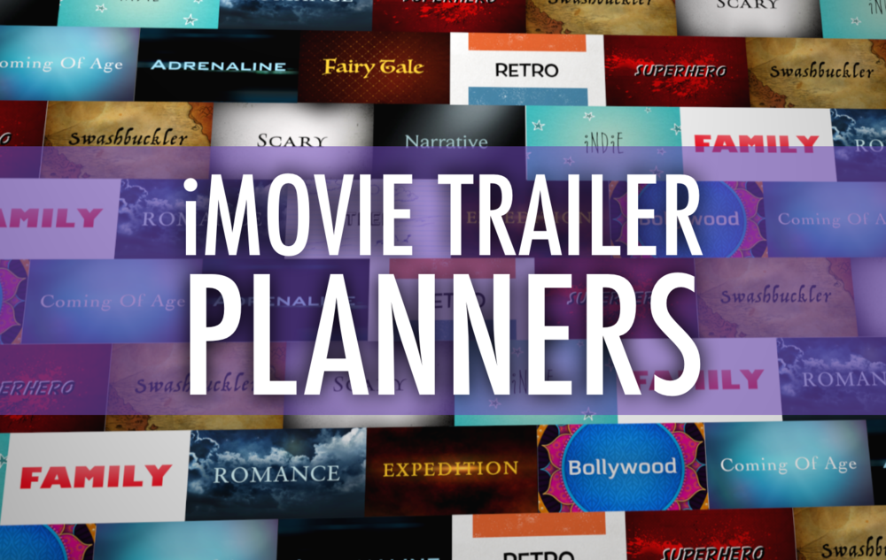 How To Make A Book Trailer On Imovie : Plan a better imovie trailer with these pdfs — learning in
