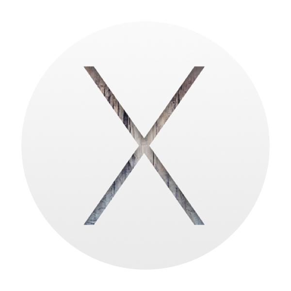 symbol for iOS X operating system