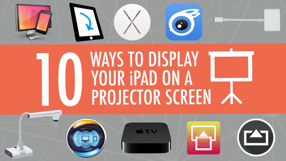 So you wanna' project your iPad