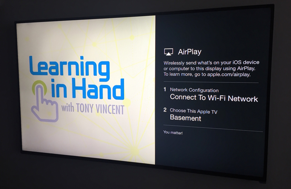 Apple Tv Settings For The Classroom Learning In Hand With Tony Vincent
