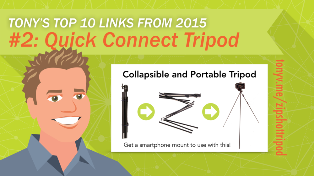 #2: Collapsible and Portable  Tripod