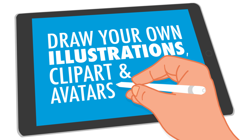 draw your own illustrations clipart avatars learning in hand rh learninginhand com make your own clip art collage make your own clip art app