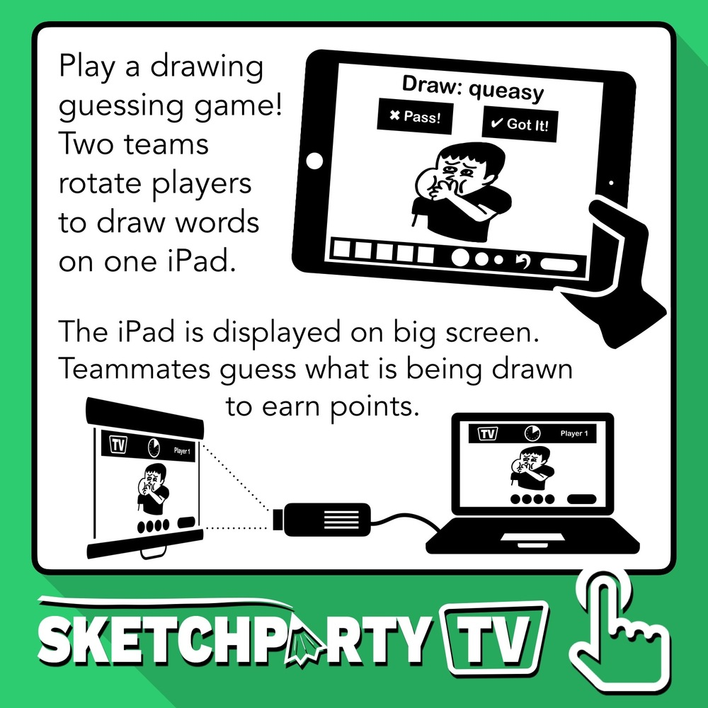 SketchPArty TV iOS App