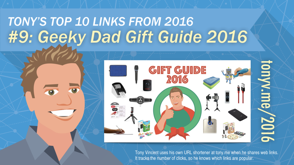 #9: Geeky Dad Gift Guide 2016