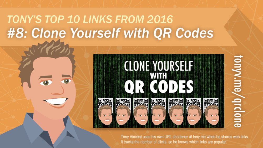#8: Clone Yourself with QR Codes