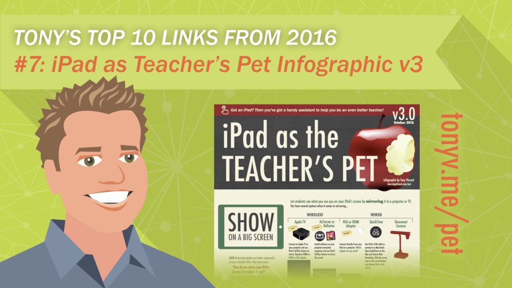 #7: iPad as the Teacher's Pet v3 Infographic