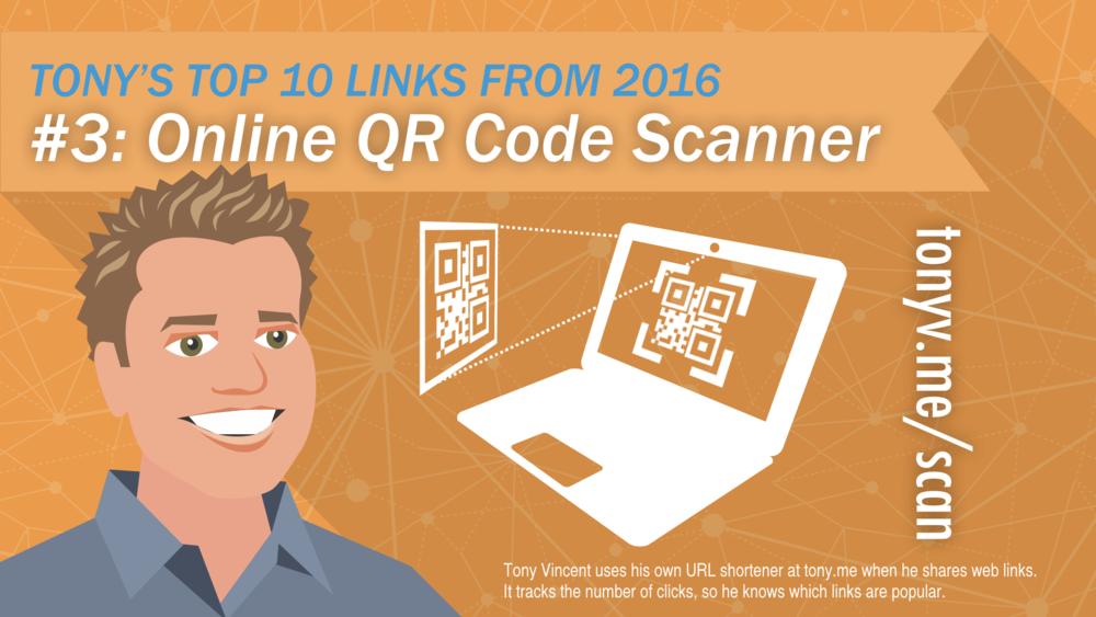 #3: Online QR Code Scanner