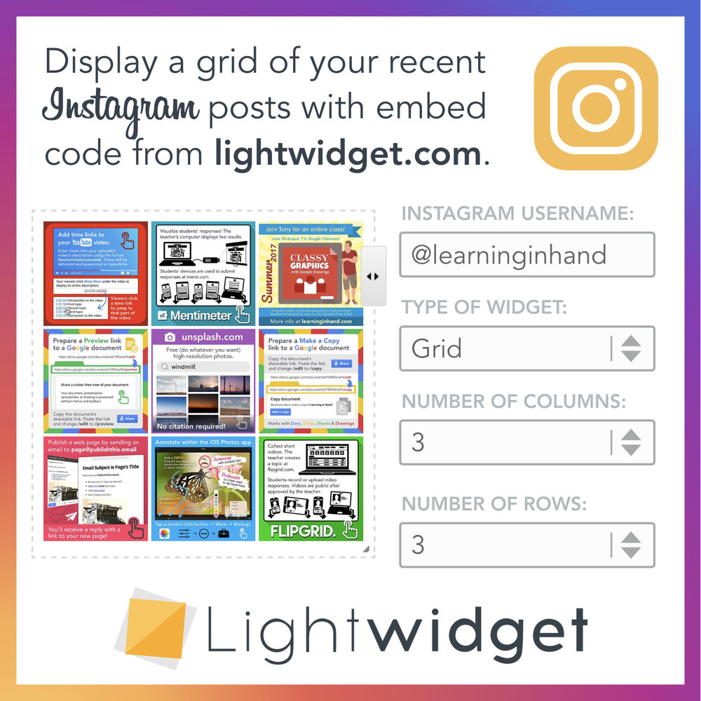 LightWidget Graphic