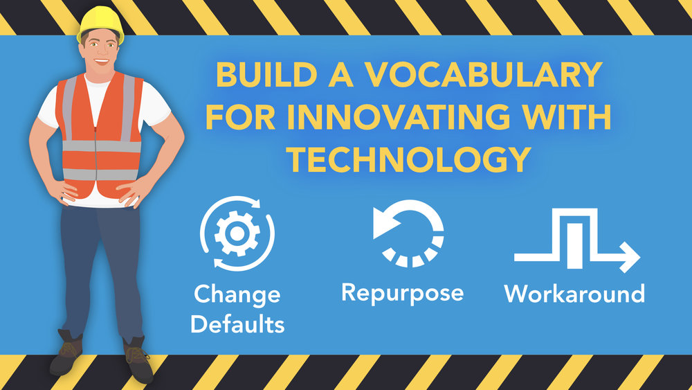 Build a vocabulary for Innovating with technology - Tony Vincent