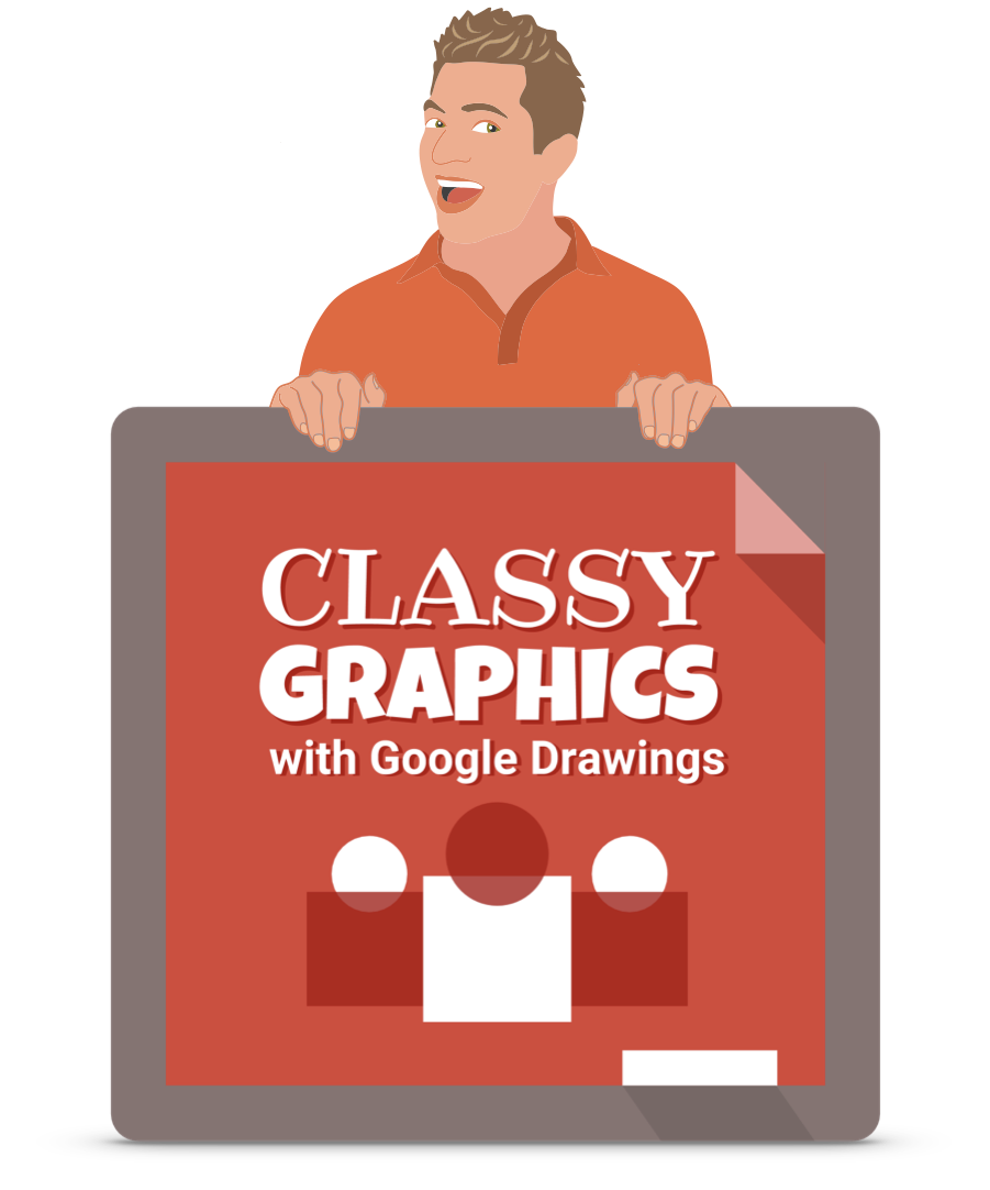 Classy Graphics with Google Drawings Logo with Tony Vincent