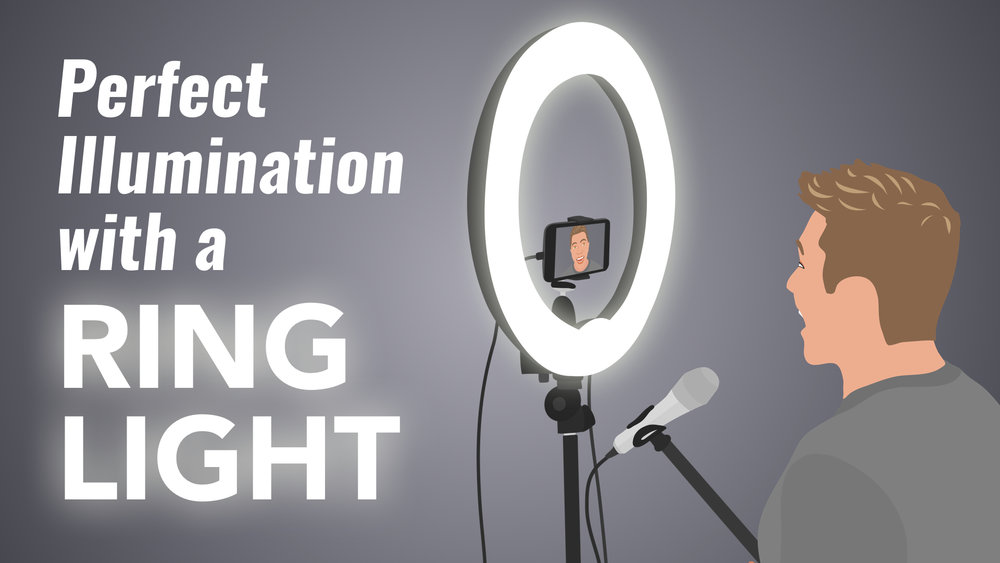 Perfect Illumination with a ring light