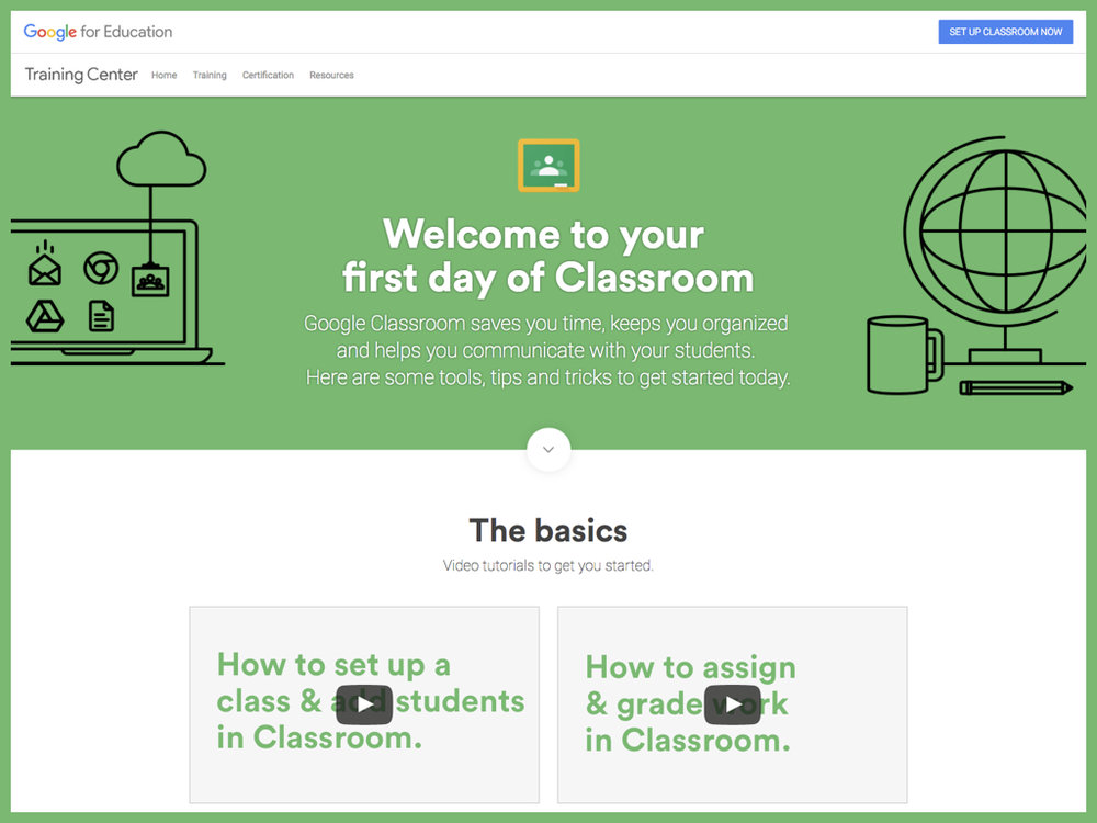 Basics, Tips, and Guides from Google for Education