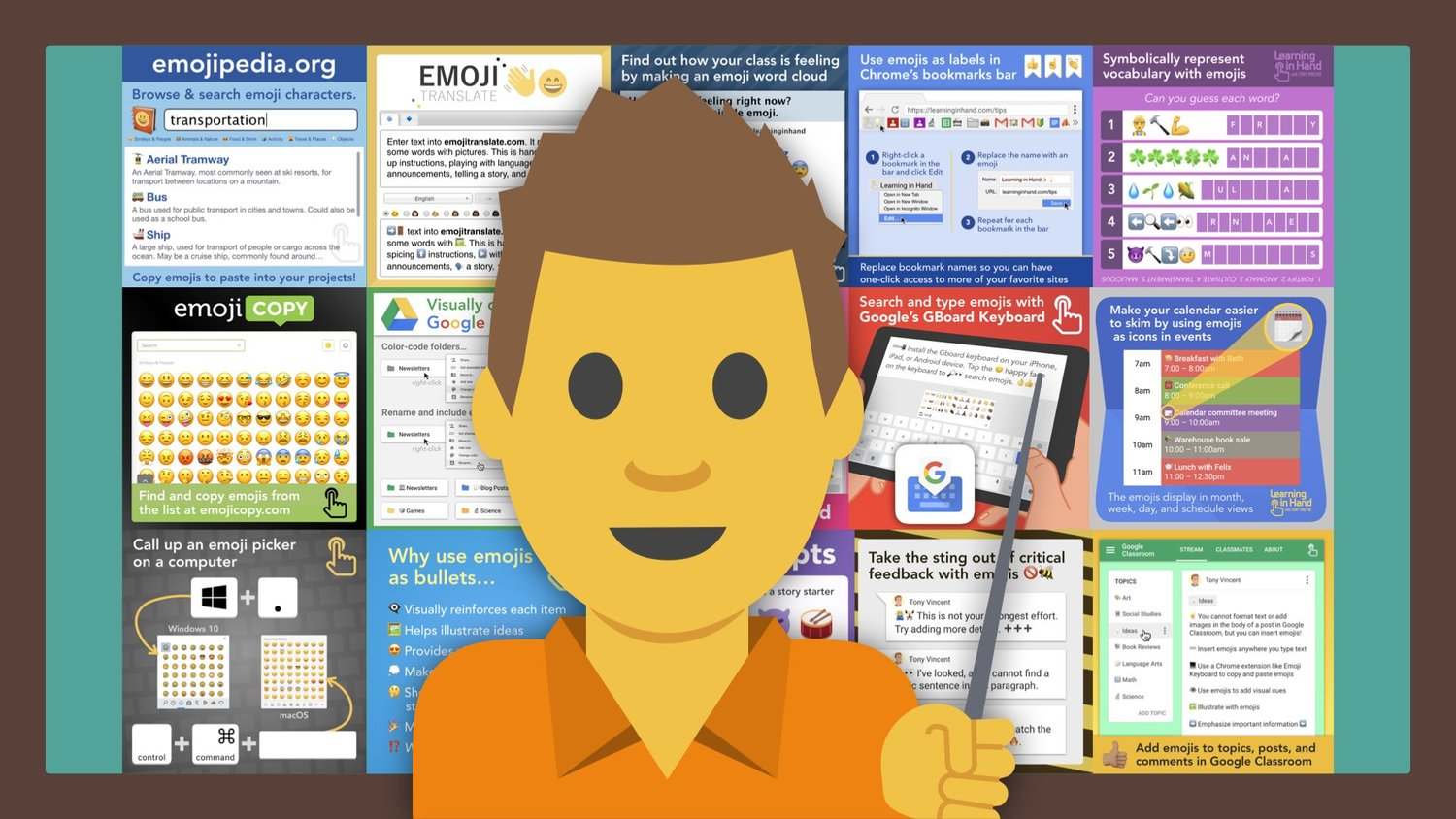 An Emoji Education — Learning in Hand with Tony Vincent