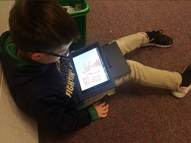 We love to see students using ShowMe! 😍🥰 👉👉Share photos from your classroom and tag #ShowMeApp ! . . . RT: @JCDeagleth Jake Todd Using the @showmeapp to describe the steps involved in division with 1-digit divsors... . . . . . .#flippedclassroom #flippedlearning #interactivewhiteboard #blendedlearning #education #elearning #moderneducation #digitallearning #stem #stemlearning #k12 #sciencekids #kidsscience #teachersofthegram #teacherstruggles #teacher #teachersfollowteachers #iteachtoo #iteachfirst #iteachsecond #iteachfourth #iteach #l4l #likeforlikes #followme