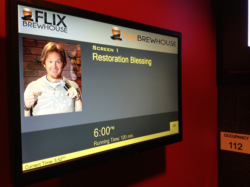 "Thanks to Tim Hawkins for allowing us to show his lastest release at our ""Reel Hope"" Movie Night !"