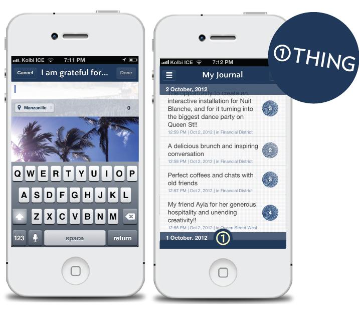 1THING app