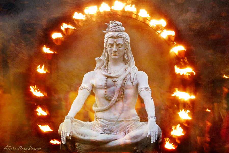 Hindi Deity Lord Shiva - At the highest level, Shiva is regarded as formless, limitless, transcendent and unchanging absolute Brahman, and the primal Atman (soul, self) of the universe. - Wikipedia - Photo Source