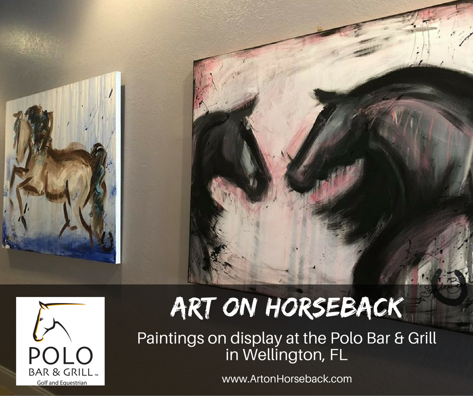 art on horseback polo bar and grill display.png