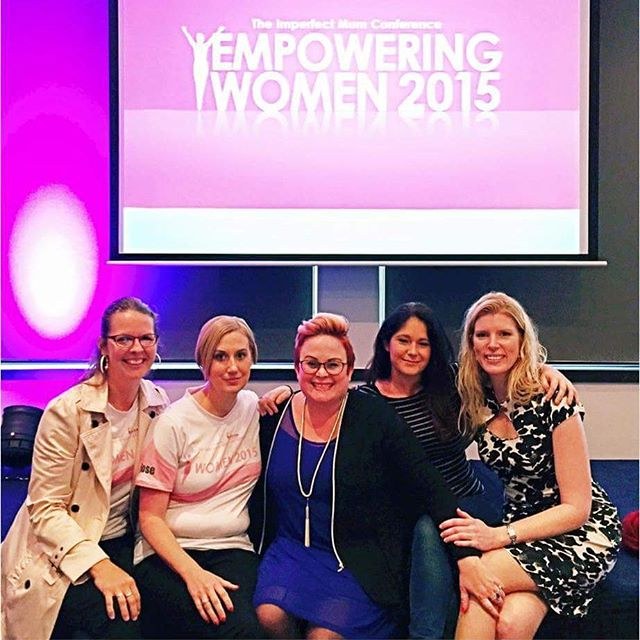 Wow what a gorgeous day I've just had at @theimperfectmum's Empowering Women conference.  I'm blown away by the incredible amount of raw vulnerability and honesty that was in that room today and as a mother, I will carry pieces of this day in my heart forever. I stole this pic of Kristy and half of the team because it's just too darn cute not to share.  Love seeing these women supporting each other - just beautiful.  And @edenland - my goodness lady,  I wish I got to tell you in person just how amazing you are. You're incredible. Thank you for having me Kristy,  can't wait to see you again in a few months! 😙💕