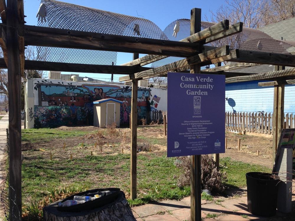 Casa Verde Community Garden