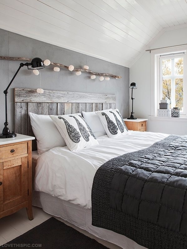 Simple headboards that will make you fall head over heels for Easy do it yourself headboard ideas