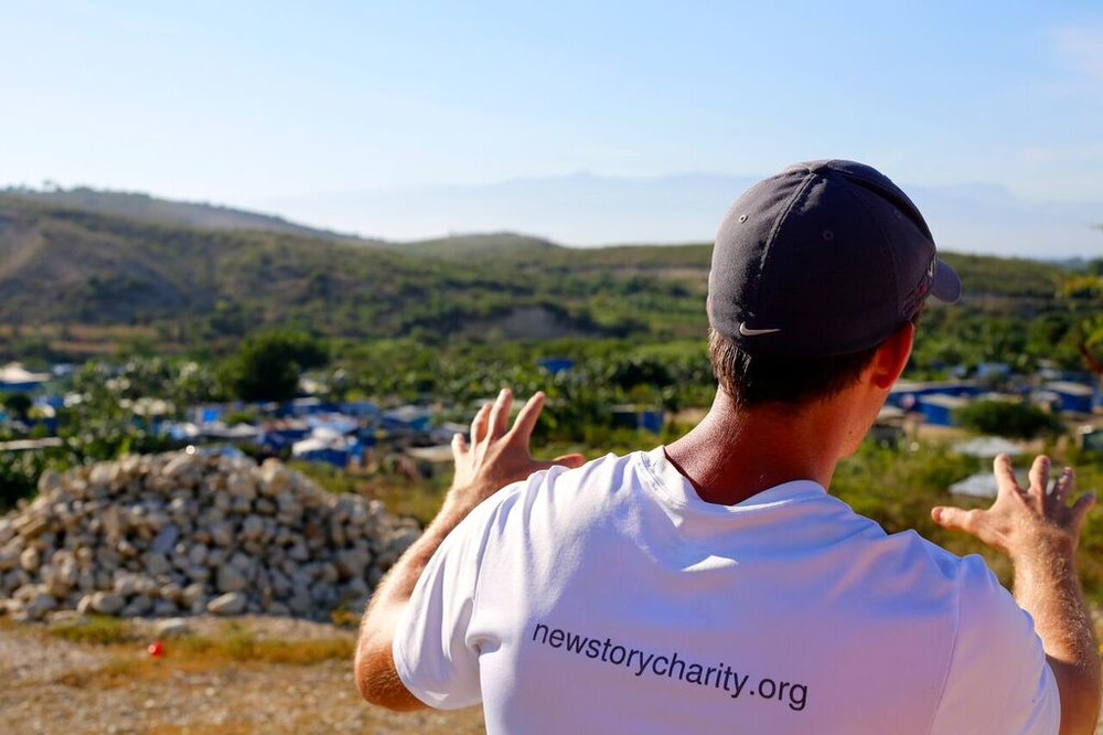 Planning a New Story for families affected by natural disasters that destroyed so many homes!