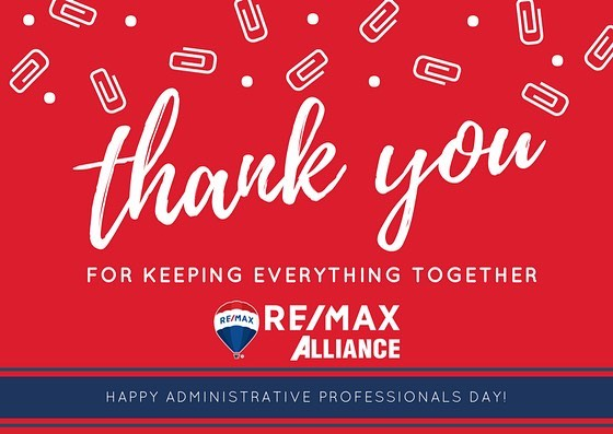 👏👏👏Kudos to all our amazing staff and all that you do for us to keep our offices running smoothly! #remaxhustle #celebrateadmins #adminprofessionalsday
