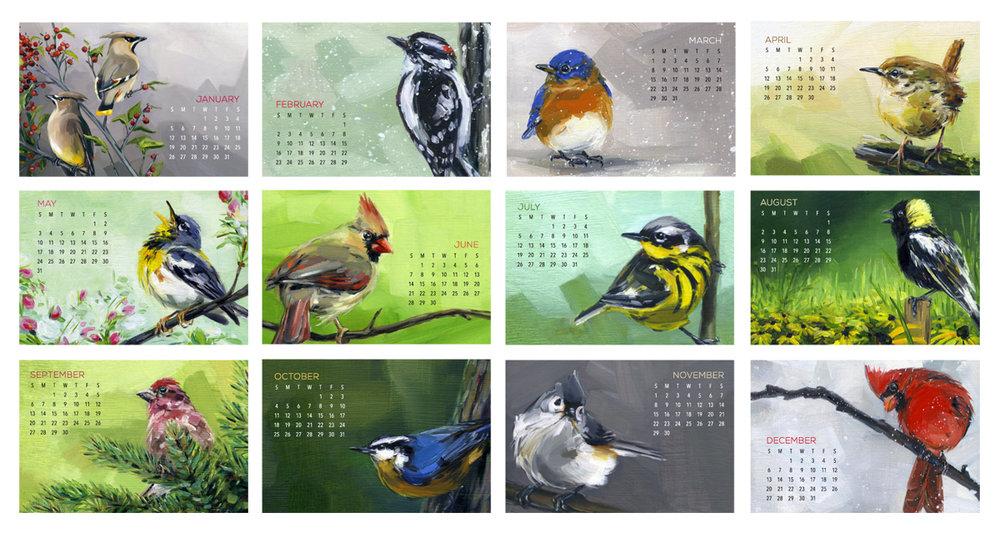 DCB - Desk Calendar Bird