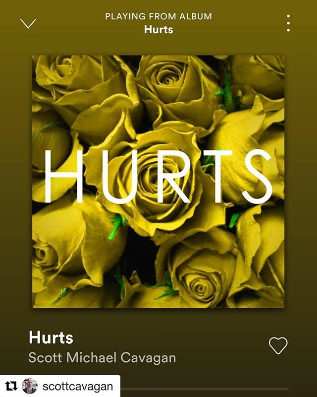 Scotts new single HURTS is out now. Go check it out on Spotify. So proud to have worked on this whole project with him and with so many talented musicians who were involved!
