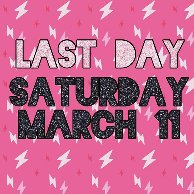 Don't forget that Saturday is our last day here, so come and collect money if you have some to collect or just come to say farewell!