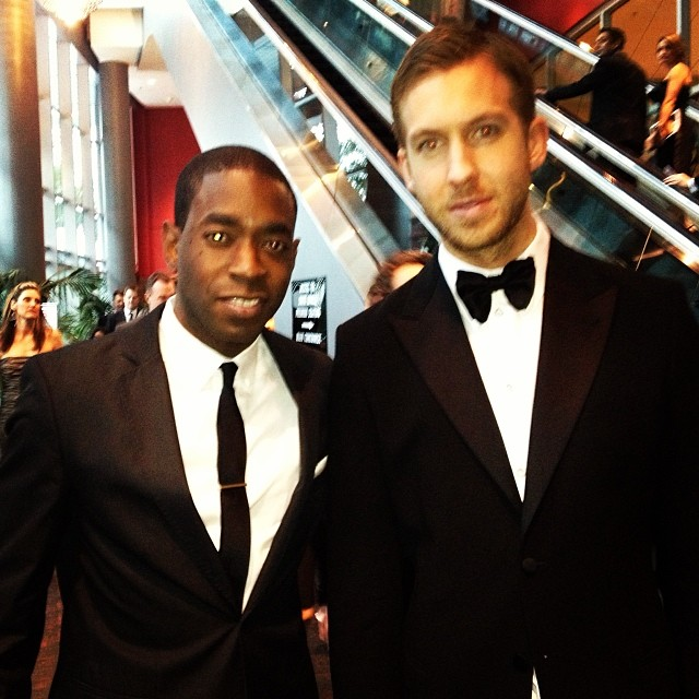 M-Squared w/ Calvin Harris at the 56th Grammy Awards!