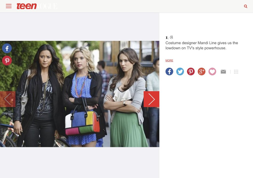 Teen Vogue  -  Black Hoodies, Hipster Prep, And Running In Heels: The Fashion Of Pretty Little Liars