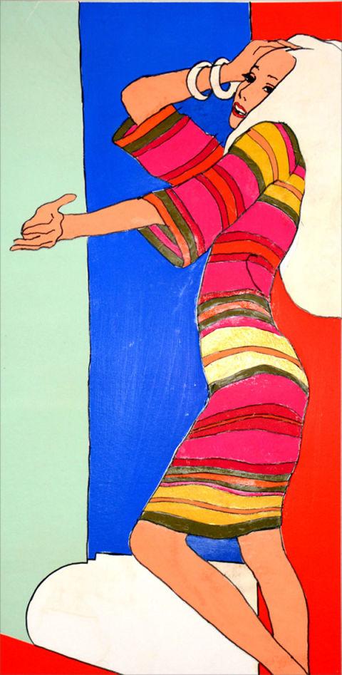 Antonio Lopez illustration