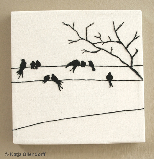 © Katja Ollendorff - Embroidery