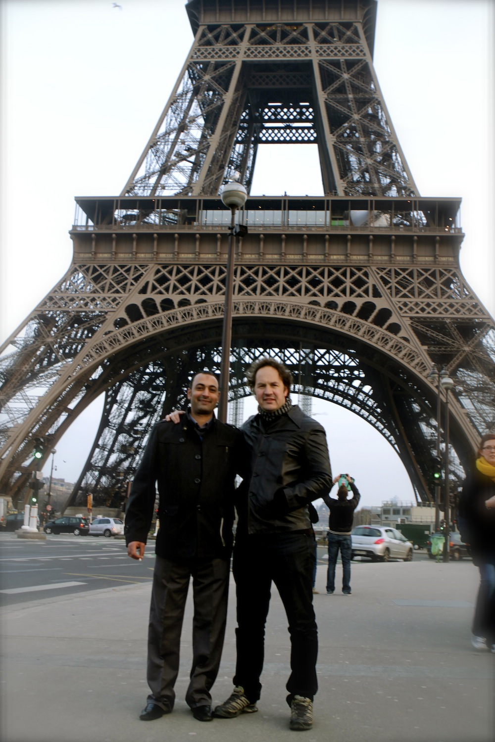 Hany&KimEiffel Tower 2013.JPG