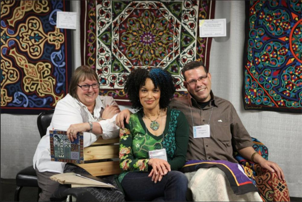 Sheila Frampton-Cooper, Jenny Bowker & Hosam EL Farouk Paducah 2013