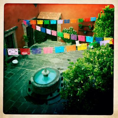 Casa Carmen's courtyard