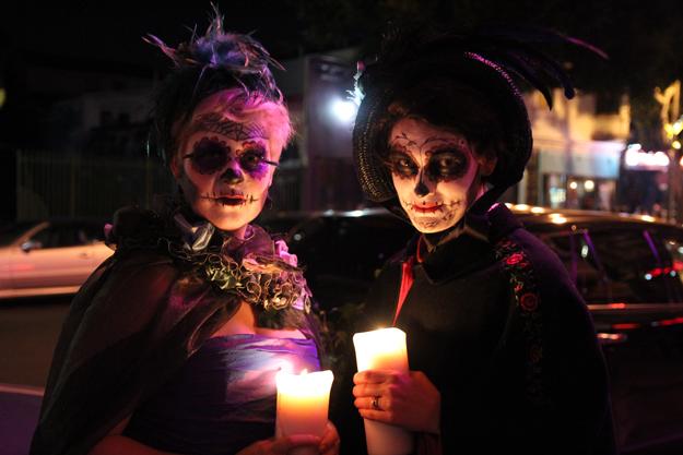 Dia de los Muertos, SF ©2015 Lisa Berman