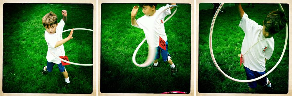 Hula Hoop Contest ©Lisa Berman