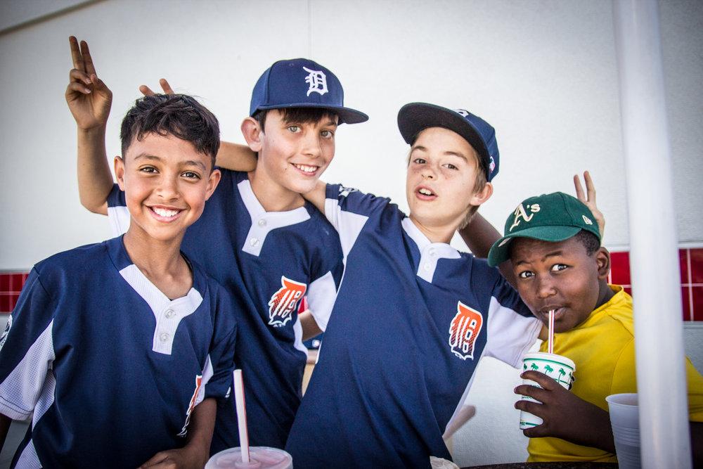 Baseball Buds & Burgers ©Lisa Berman