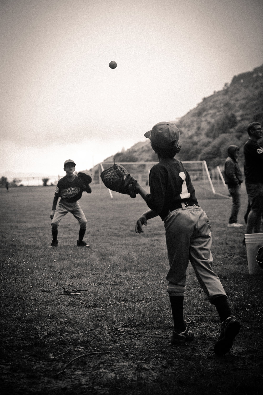 Twilight Baseball ©Lisa Berman