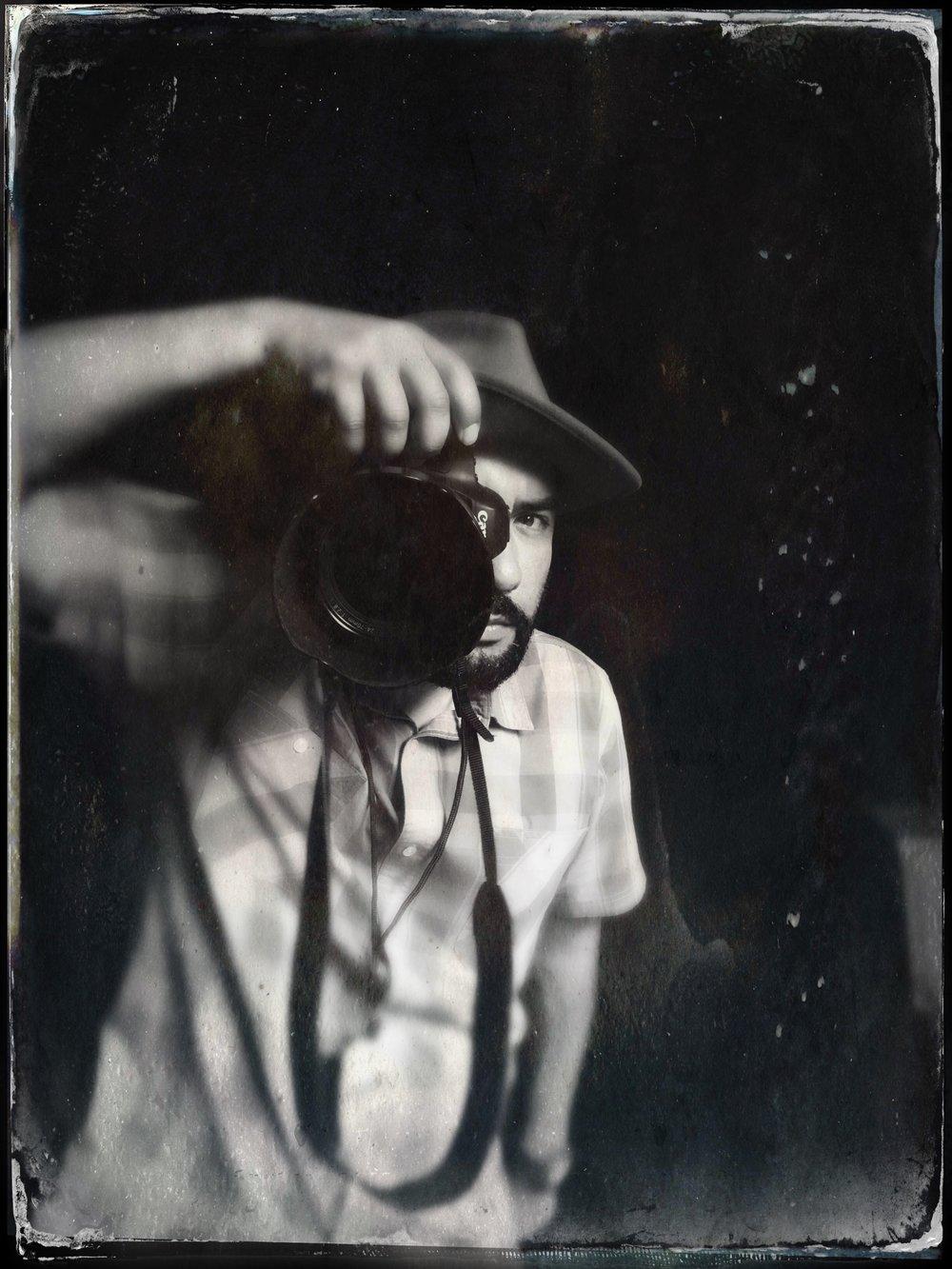 Snap Jackson, photographer + musician ©Lisa Berman