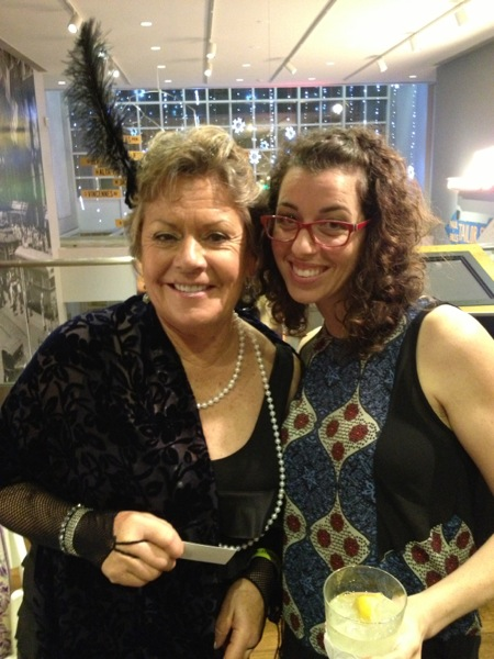 Lauren with Deirdre Capone.